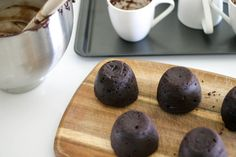 Dairy-free, delicious, melty, gooey, chocolate fondant to add to your dessert repertoire!