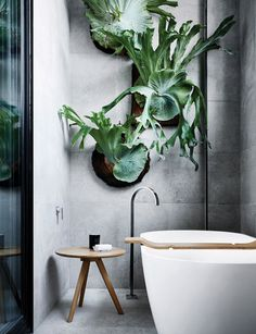 Bathroom ideas and tips from the experts for a nature inspired space