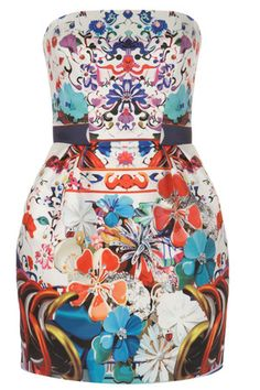 Mary Katrantzou for Topshop : dress