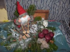 Dobozos adventi Advent, Christmas Wreaths, Table Decorations, Holiday Decor, Furniture, Home Decor, Decoration Home, Room Decor, Home Furnishings