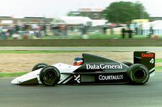 1987 Philippe Streiff (FRA) (Data General Team Tyrrell), Tyrrell DG016 - Ford-Cosworth DFZ 3.5 V8
