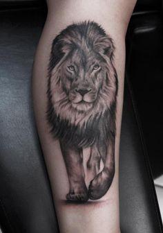 Tattoo by Patrick leonard #tattoo  #tatuagem #lion #leão