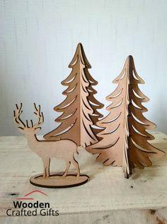 Santa Kinder egg holder Father Christmas  18mm thick 20cm high MDF craft wood