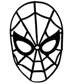 CARETAS INFANTILES DE CARNAVAL: CARETA DE SPIDERMAN : COSAS PARA NIÑOS Avengers Room, Avengers Birthday, Mascara Spiderman, Hero Crafts, Applique Cushions, Disco Party, Mask Making, Superhero Logos, Les Oeuvres