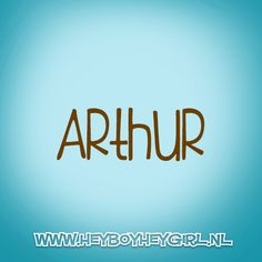 Arthur (Voor meer inspiratie, en unieke geboortekaartjes kijk op www.heyboyheygirl.nl)