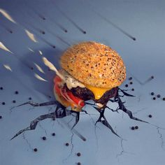 Ultra-creative burgers by Fat and Furious