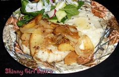 Apples, Onions and Pork equals delicious | Skinny Girl Bistro
