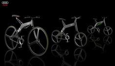 #audi #e-bike #electric #Bicycle #prototype  #lynnfriedman