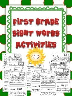 This is great for station work. There are 101 sight words included. Activities included for each word: *Word Search *Write the sight word in a sentence *Color the sight word *Read the sight word and check it 4 times Copy and use as Word Work! Can be used as morning work, homework, Center/Station work or extra practice.