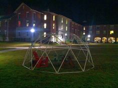 How to build a PVC geodesic dome - All