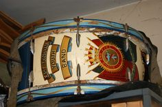 drum in the band room at Salvation Army, Barking