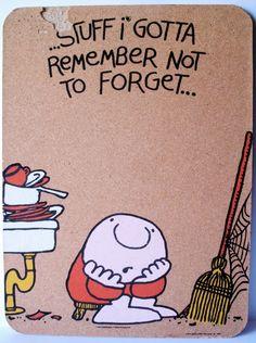 Ziggy Cartoon Cork Board