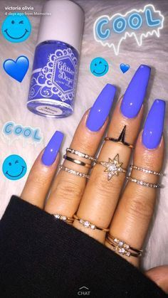 How to choose your fake nails? - My Nails Best Acrylic Nails, Summer Acrylic Nails, Acrylic Nail Designs, Hair And Nails, My Nails, Cute Spring Nails, Fire Nails, Coffin Nails Long, Dream Nails