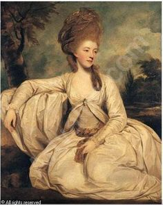Sir Joshua Reynolds, Portrait of Mary Wordsworth, 1777 - originally seen on http://blog.mikerendell.com/?paged=3