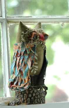 IntotheWoods+Woodland+Owl+Arne+by+lorinichols+on+Etsy,+$120.00