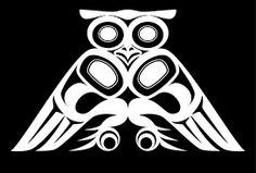 die 92 besten bilder von haida owls native art haida art und Native American War Masks bildergebnis f r owl stories in culture canada westcoast