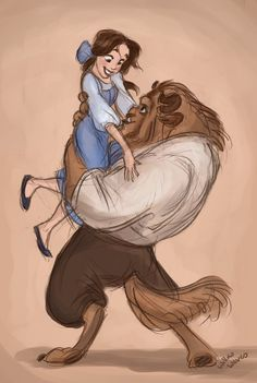 Beauty and the Beast by ~WillowWaves on deviantART