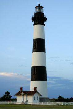 In my quest to photograph lighthouses, my husband and I traveled to the Outer Banks in North Carolina. I had seen photos of the Cape Hatteras...