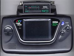 Blast from the past: Sega Game Gear with TV Tuner (ca. 1991). Pre PSP, iPhone, iPod touch, Nintendo DS, etc.
