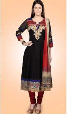 Party Readymade Churidar Kameez in Cotton Fabric With Black Color | FH520278984 #salwar, #kameez, #readymade, #anarkali, #patiala, #pakistani, #suits, #online, #stitched, #indian, #dress, #material, #shopping, #fashion, #boutique, #mode, @heenastyle , #designer , #pakistani , #evening , #wedding , #casual , #palazzo , #patiyala , #punjabi , #churidar , #narrow