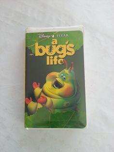$3.99 A Bug's Life (VHS, 1998), Walt Disney Pixar animated movie + BONUS FEATURES