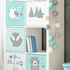 Kids Dream Big per IKEA Kallax 1 anta