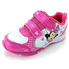 Minnie Mouse Girls Pink Lighted Sneakers Shoes (11 M US Little Kid) Disney http://www.amazon.com/dp/B00S8IQKFU/ref=cm_sw_r_pi_dp_GatYub0C0BF25