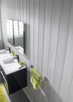 Solution déco : du lambris dans la salle de bain | Trouver des idées de décoration tendances avec Mr.Bricolage