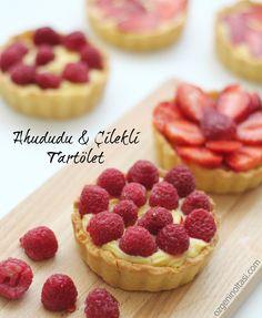 Ahududu ve Çilekli Tartöletler / Özge'nin Oltası (Strawberry Tartelettes)