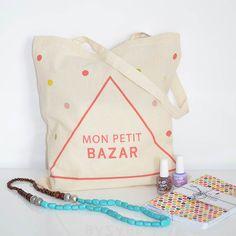 Petite Mila | Tote bag Petit Bazar