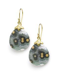 Jane Bohan | Ocean Jasper drop earrings | Max's