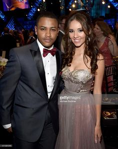 Tequan Richmond and Haley Pullos at the 42nd Annual Daytime Emmy Awards