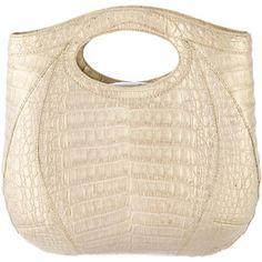 Pre-owned Nancy Gonzalez Crocodile Handle Bag