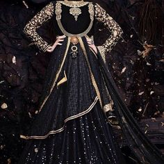 Black Georgette Designer Lehenga Choli for USD 145 @fashionsbyindia #india #indiansinchicago #style #fashion #fashionable #fashionblogger #womensfashion #womenswear #fashiondaily #fashiondiaries #fashiondiary #lehenga #lehengacholi #choli #punjabi...
