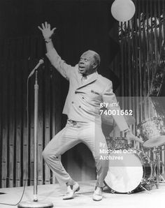 Photo Of Rufus Thomas . I performed with Rufus Thomas while on tour with Robert Jr. Lockwood  1986.