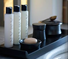 #MyEscapeComptetion/elegant toiletries/Amanzoe Resort and Spa, Greece