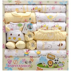 Autumn and winter thick cotton baby gift newborn baby clothes factory wholesale underwear sets