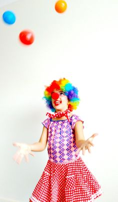 Get clowning around with custard pies and juggling acts in no time at all with our hilarious clown Dress Ups. www.thedressupbox.net.au