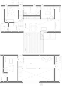 Gunnar's House - Huus Og Heim Arkitektur - Norway - Floor Plans - Humble Homes