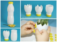 1 million+ Stunning Free Images to Use Anywhere Egg Crafts, Diy And Crafts, Crafts For Kids, Spring Projects, Spring Crafts, Basket Crafts, Plastic Bottle Crafts, Toilet Paper Roll Crafts, Coloring Easter Eggs