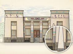 Dribbble - Museum illustration 1 by Metadesign studio