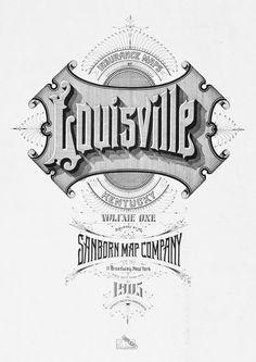 Typographic illustration from Sanborn maps  Title: John Wilkins in The Baroque Cycle, Neal Stephenson