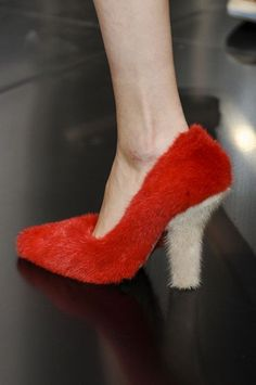 Here Are the Weird, Furry Celine Shoes Everyone is Talking About:   I secretly like them, the heels that is, NOT the 'Furkenstocks'!