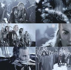 "LOTR/TH AESTHETICS ‏@shirefoIk   HALDIR, MARCHWARDEN OF LORIEN ""An Alliance once existed between Elves and Men.. We come to honor that allegiance."""