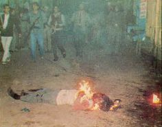 Anti-Sikh Riots  Following The Assassination Of Indian Prime Minister Indira Ghandi In1984 That Saw Over 10,000 Sikhs Massacred.