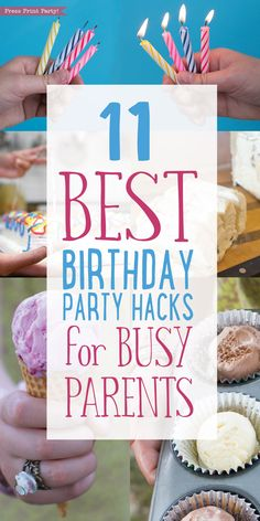Do you know how to cut a round cake? Some of these party hacks will blow your mind. Get all 11 Best Birthday Party Hacks for Busy Parents here: http://www.pressprintparty.com/diy/11-best-birthday-party-hacks-busy-parents/  By Press Print Party.