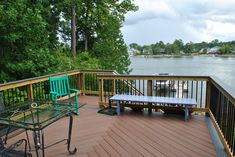 Low Maintenance Outdoor Living on Lake Murray - Design Ideas - Archadeck Outdoor Spaces, Outdoor Living, Outdoor Decor, Trex Railing, Deck Builders, Lakefront Homes, Composite Decking, Mold And Mildew, Backyard