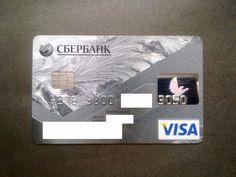 Russia Visa Credit Card Sberbank | eBay