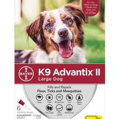 Advantix II Topical Large Dog Flea & Tick Treatment, 2 Packs of 6 Mosquito Repellent For Dogs, How To Communicate Better, Rocky Mountain Spotted Fever, American Bulldog Puppies, Wild Bird Food, Flea And Tick, Dog Hacks, Ticks