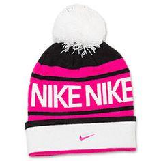 Girls' Nike Pom Beanie Hat
